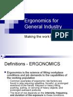 Ergonomics for Gi