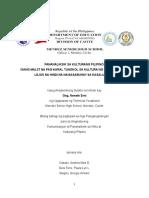 PANANALIKSIK SA WIKA AT KULTURANG PILIPINO.docx