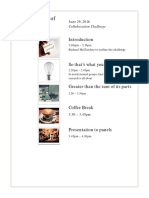Summary of Collaboration Challenge