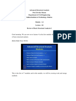 Adv STRuctural AnalYsis