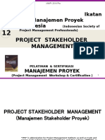 12- Project Stakeholder Management Iampi