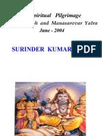 Kailash Manasarovar Yatra presentation
