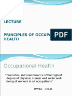 1Lecture-Principles of Occupa Health