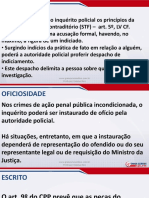 Direito Processual Penal - Aula 03 - Inquérito Policial (Parte III)