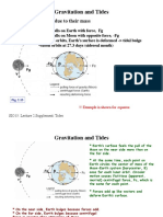Gravitation and Tides