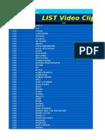 Katalog Karaoke (2003 Version)
