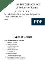 Types of Grants