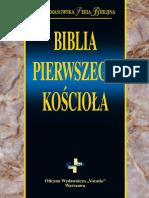 Biblia Pierwszego Kosciola Fragment