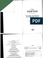 NEWTON , Isaac - Principios matematicos - COMPLETO.pdf
