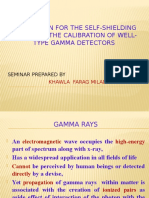Correction for the Self-shielding effect on the calibration of well-type gamma detectors=!=Research Point=movie=