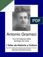 Antonio Gramsci commemorazione a Santiago de Cuba
