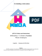 Huda Policies and Instructions