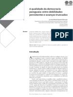 A QUALIDADE DA DEMOCRACIA PARAGUAIA - LILIANA DUARTE - PORTALGUARANI