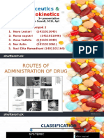 Routes of Administration of Drug