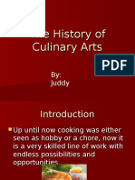 The History of Culinary Arts - Juddy.ppt