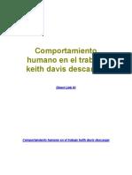 Comportamiento Humano en El Trabajo Keith Davis Descargar