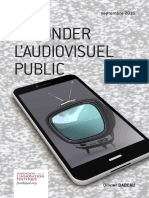 Olivier Babeau - Refonder l'audiovisuel public