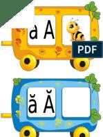 Alfabet Trenuleț Litere Mari Și Mici