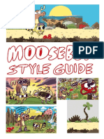 Moosebox Character Style Guide