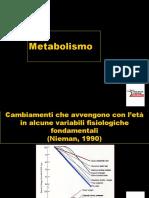 Dal Metabolismo Basale a Quello Totale
