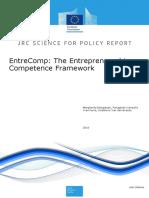 Entrepreneurship Competence Framework