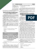 Rectifican la Ordenanza N° 010-2016-MDCH que aprueba el planeamiento integral del diseño urbano los parámetros normativos en términos de zonificación usos y vías del sector Galeano Fundo Viña de Villagra