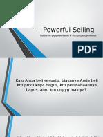Powerful Selling