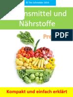 Lebensmittel und Nährstoffe kompakt erklärt - Preview Version