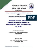 Informe Final Zaña