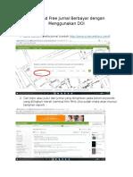 Download Free Jurnal Berbayar Dengan Menggunakan DOI