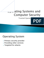 IT3004 - Operating Systems and Computer Security 06 - Trusted Operating Systems
