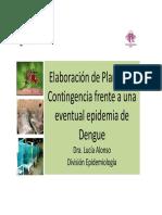 Elaboracion  Planes de Contingencia Dengue