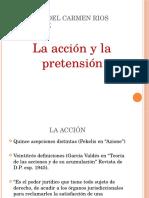 La Acción y La Pretensión