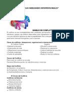 Habilidades Interpersonales (Unidad 3)