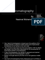 Gas Chromatography Not Mine