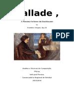 Ballade, Frédéric Chopin