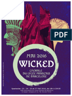 Folleto Wicked