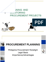 Procurement Planning and Monitoring.April 2015.pptx