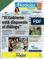 Últimas Noticias Vargas lunes 5 de septiembre  de  2016