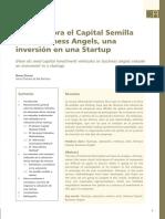Como Valora el Capital Semilla o los Business Angels, una inversión en una Startup