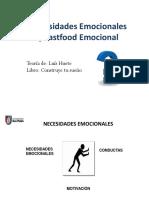 7. Necesidades Emocionales y Fastfood Emocional