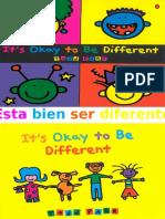 9. IT´S OKAY TO BE DIFFERENT - ESTA BIEN SER DIFERENTE