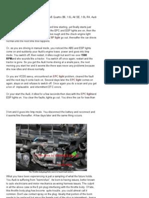 Vw Polo_ Audi Epc Light | Audi | Electrical Connector