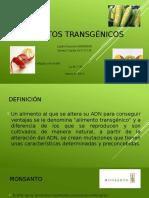 CTS Presentación Alimentos Transgénicos Marzo 2014