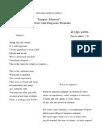 Empty Silences- T.S. Eliot and Eugenio Montale.pdf
