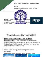RF Energy Harvesting in Relay Networks