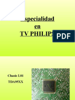 L03 y L01 de Televisores Philips Training Manual Spanish