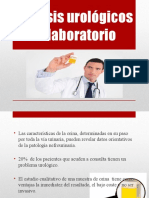 Análisis Urológicos de Laboratorio