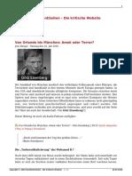 Eisenberg - Orlando Bis Muenchen - Amok Oder Terror