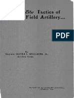 CGSCL1905 - Tactics of Field Artillery by Captain Oliver L. Spaulding J